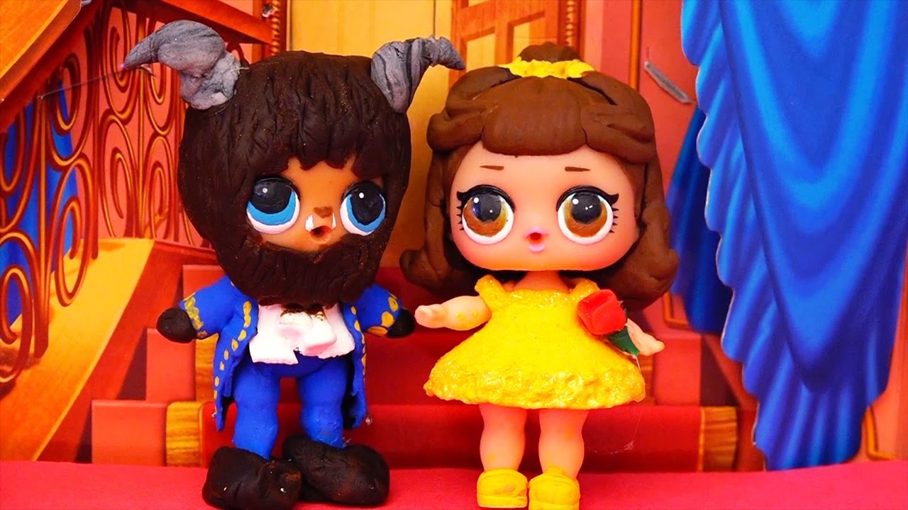 Lol Dolls Turn Into Beauty Amp The Beast Toys And Dolls