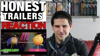 Honest Trailers: The Emoji Movie - REACTION