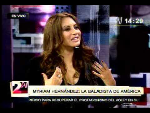 Myriam Hernandez en 2 a la N  --  2