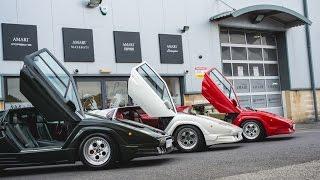 Lamborghini Countach Trio