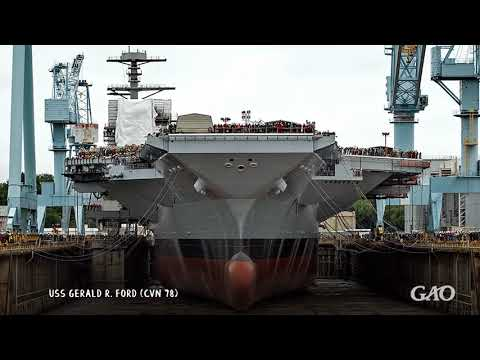GAO Report: Poor conditions at Navy shipyards