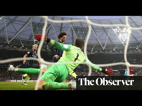 Download Leroy Sané double lights up Manchester City's rout of West Ham