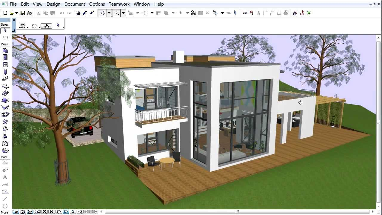 3d Modern Wallpaper Designs Archicad Energy Evaluation Creating A Building Model For