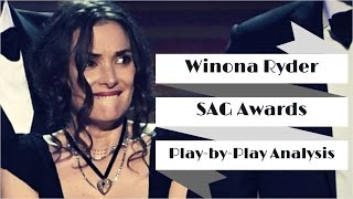 Winona Ryder SAG Awards Play by Play Analysis