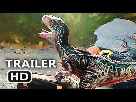 "JURASSIC WORLD 2 ""Blue's Baby"" Trailer (2018) Chris Pratt, Fallen Kingdom Action Movie HD"
