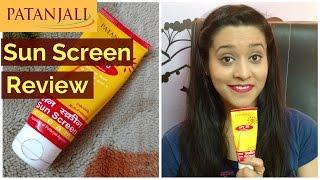 Patanjali Sun Screen Review | Cheapest Sunscreen | SPF 30