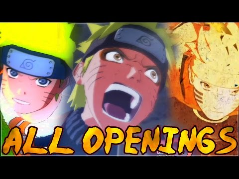 All Openings/Intros of the Naruto Ultimate Ninja Storm Series (2008-2016)