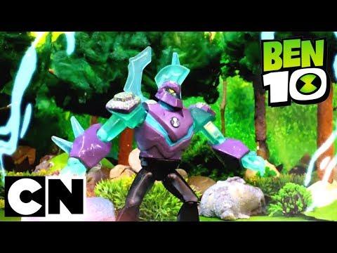 Ben 10   Omni-Enhanced Diamondhead BATTLE Hex   Cartoon Network