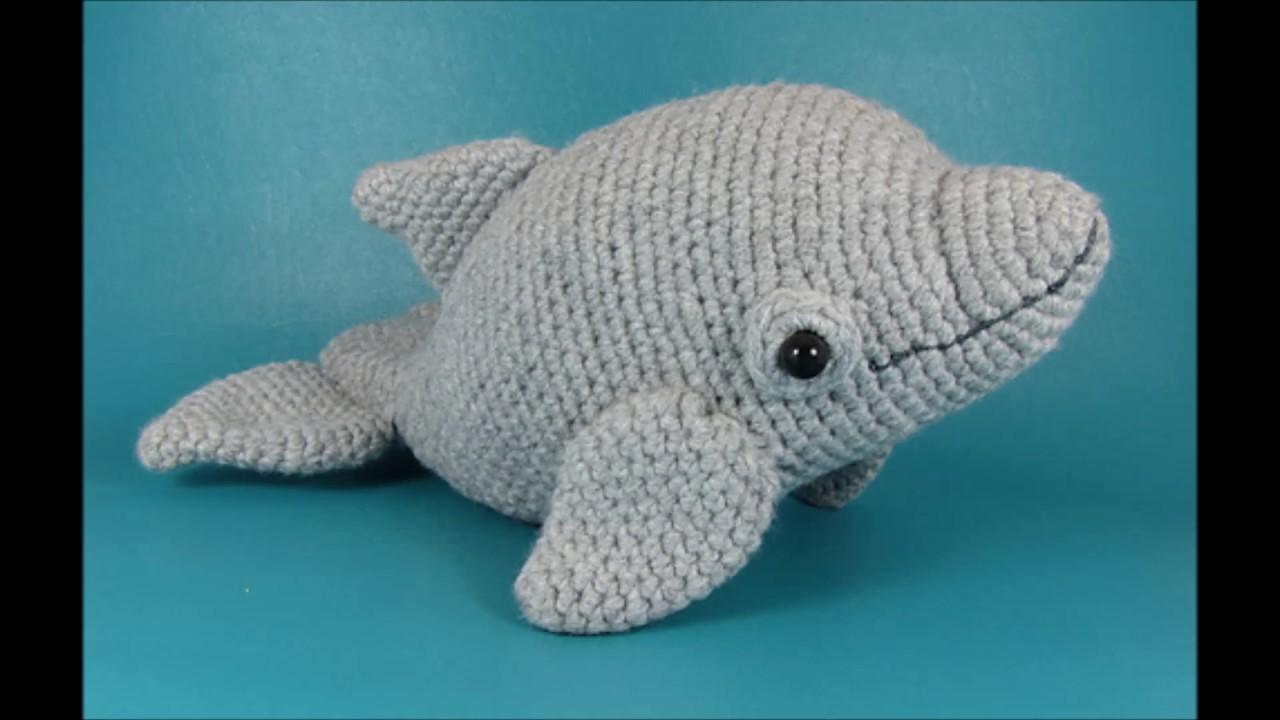 Amigurumi dolphin patterns : Crochet dolphin youtube