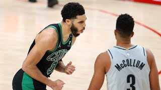 Jayson Tatum 32 Pts Clutch 3 vs Blazers 7 Secs Left! 2020-21 NBA Season