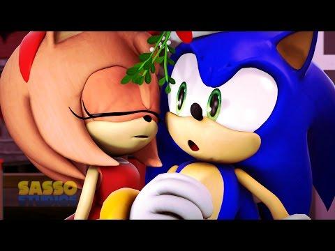 Sonic Animation -SONIC'S CHRISTMAS MISTLETOE MISHAP- SFM Animation