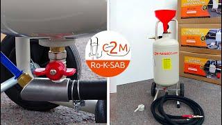 Test de la Sableuse aérogommeuse 20 litres avec détendeur