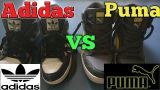 Best shoes for mens ( Adidas vs Puma )