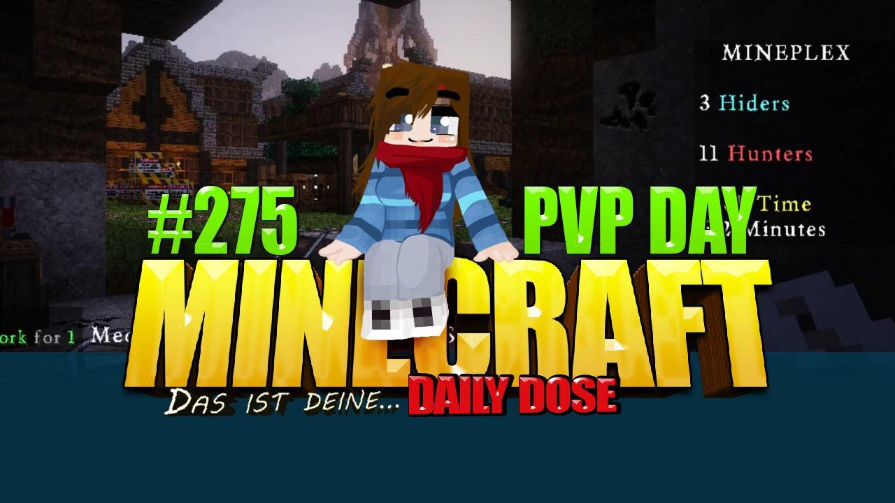 Minecraft DDMC HidenSeek Spielen Server Spaß YouTube - Minecraft verstecken spielen server