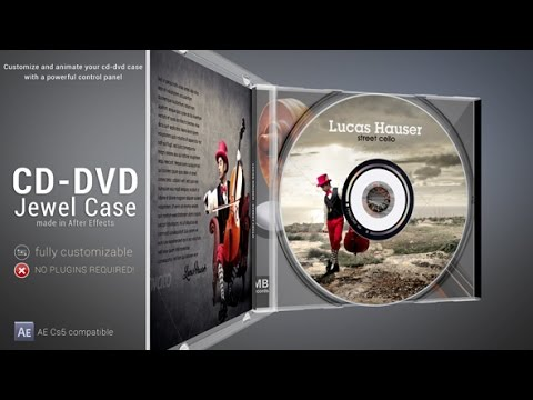 CD - DVD Jewel Case ( After Effects Project Files)
