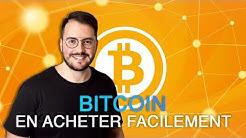 Comment acheter du Bitcoin facilement