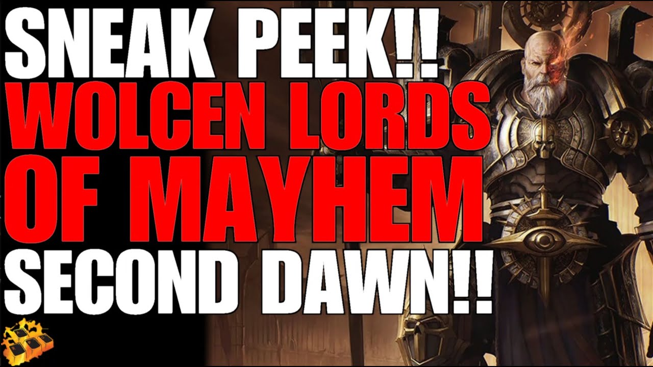 *NEW* WOLCEN LORDS OF MAYHEM SECOND DAWN SNEAK PEEK!! MORE FPS COMING!!