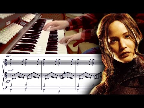 The Hanging Tree Organ Cover with Sheet Music