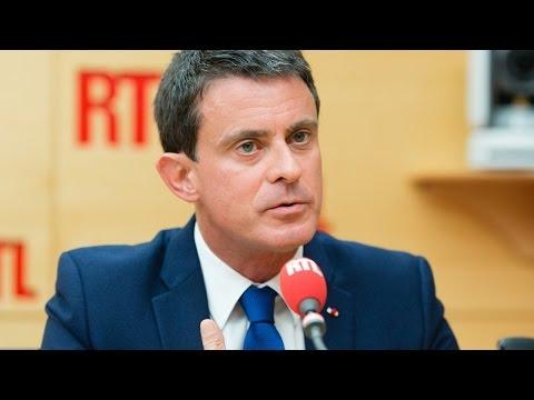 Manuel Valls était l'invité de RTL le 27 juin 2017