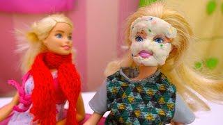 Видео #Барби для девочек. Лечим Барби! Игры про магию и волшебство. Видео про игрушки.