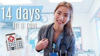 I worked 14 days in a row | Nurse life