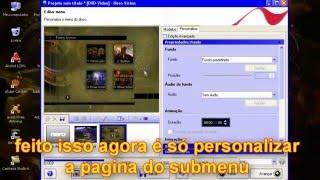 Nero 9 - Menu Personalizado com Submenu [Shine Video]