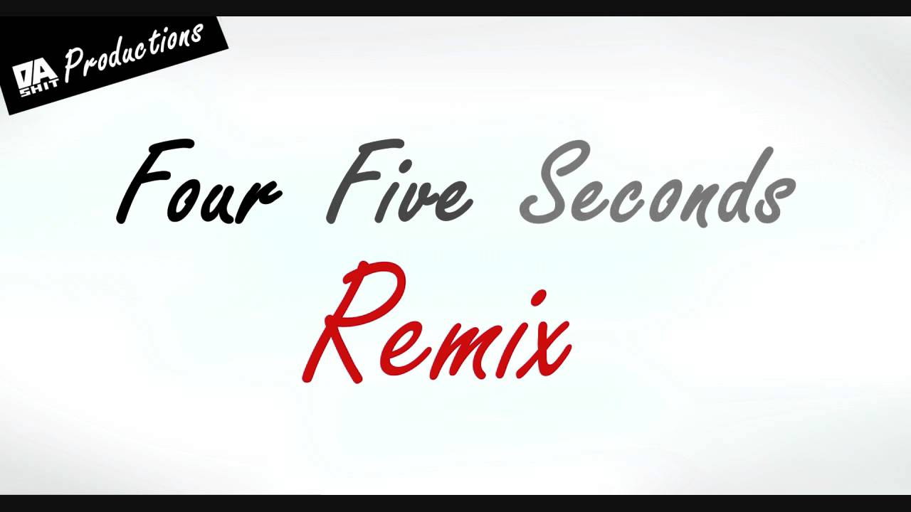 Four Five Seconds Remix - Rihanna, Kanye West & Paul McCartney