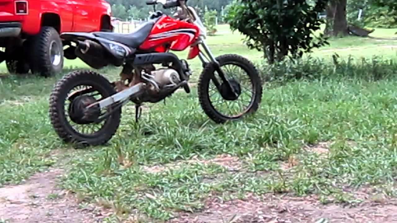 Baja Motorsport Dirt Bike 70cc Youtube