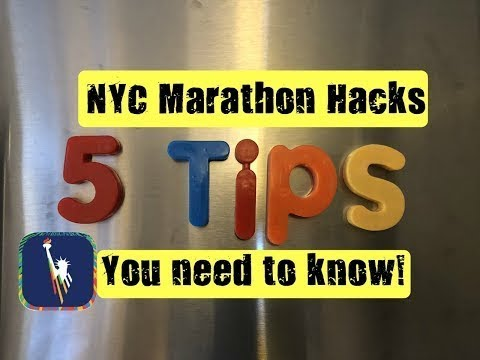 NYC Marathon Hacks: 5 Tips You Need 2 Know!