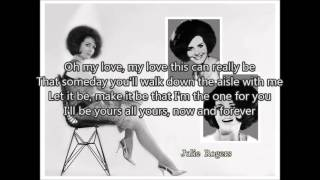 JULIE ROGERS -The wedding (1964 ) with lyrics