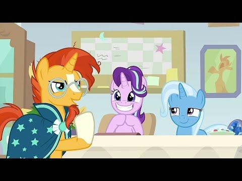 Sunburst Become The Vice Headmare Of Friendship School - My Little Pony: FIM Season 9 Episode 20