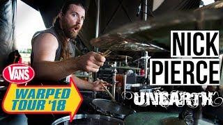 "Nick Pierce   Unearth-""Incinerate"" (WARPED TOUR '18 PERFORMANCE)"