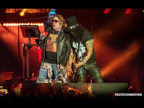 Guns N' Roses Monterrey, Mexico Nov 3, 2018 Concert Recap & Photos