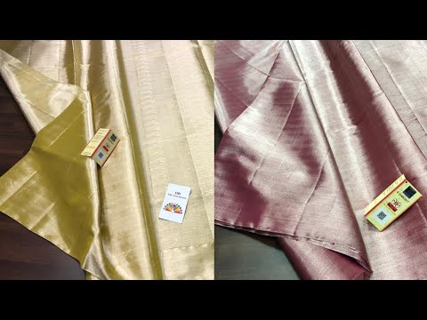#88 Kanchipuram Pure Soft Fancy Party Wear Silk Sarees Online J.Anusha Latest Fashions || from YouTube · Duration:  3 minutes 44 seconds