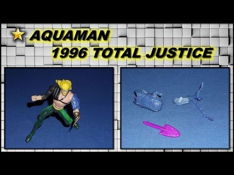 1996 AQUAMAN TOTAL JUSTICE TOY!