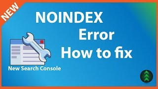 Submitted URL marked NOINDEX Error in Search Console