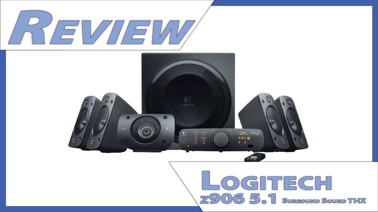 Logitech z906 5.1 Surround Sound THX - In Depth Review - Unboxing