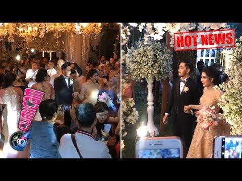 Hot News! Wow, Begini Suasana Pesta Resepsi Pernikahan Jeje-Syahnaz - Cumicam 21 April 2018