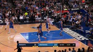 1st Quarter, One Box Video: Dallas Mavericks vs. Denver Nuggets