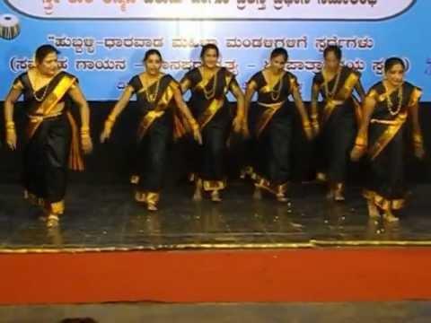 Jelli Kabbu Dance Hubli Mahila