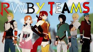 EVERY RWBY Team - Volume 1-3 - EruptionFang