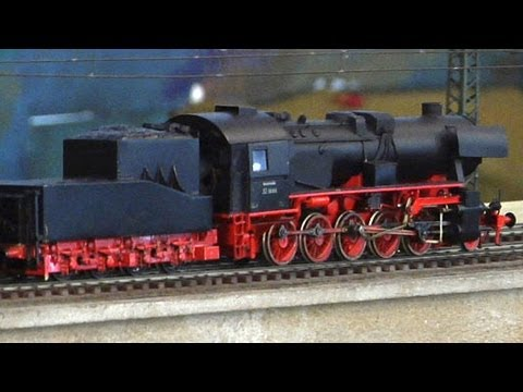 Vintage Model Trains in O Scale with Cab Ride at the Dresden Railroad Museum