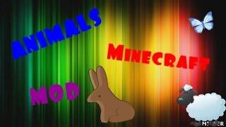 ANIMALS MOd на Minecraft - мод на животных
