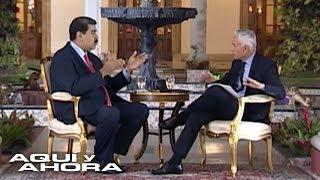 Equipo de Univision Noticias narra cómo transcurrió la entrevista entre Jorge Ramos y Nicolás Maduro