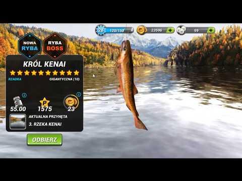 Fishing Clash Ryby Boss na Łowisku Rzeka Kenai