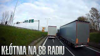 Kłótnia kierowców na CB radiu | KrychuTIR™