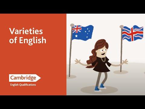 English Language Learning Tips - Varieties of English