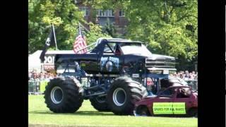 monster trucks wolverhampton show  july 2011