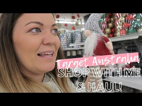 SHOP WITH ME | TARGET Australia - Christmas Shop With Me And Haul 🛍️