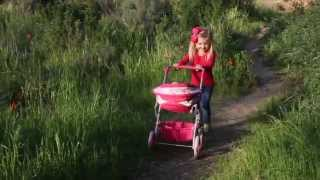 Deluxe Baby Doll Stroller By Adora